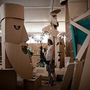 Parade of Huge Cardboard Creatures