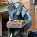 Monument to Processed cheese
