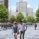 Reconstruction of New Arbat Street