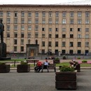 Have a rest in Mayakovskaya Square