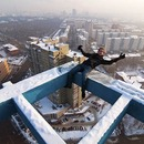 Extreme urban climbing in Moscow