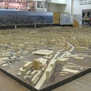 A huge model of Moscow