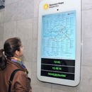 Interactive panels will appear in Moscow Metro