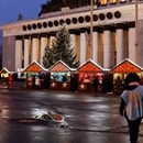 Christmas village at the All-Russia Exhibition Centre