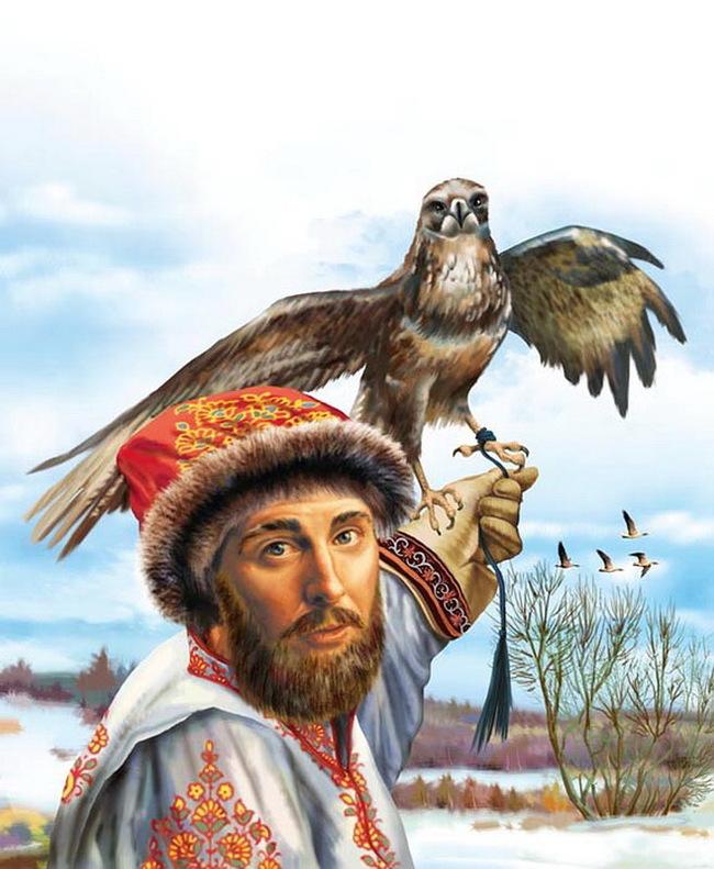 Царь написал подробное руководство по соколиной охоте 46