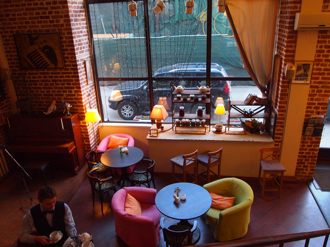 Уютное недорогое кафе в центре спб