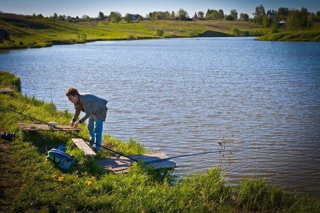 Как открыть свой рыболовный пруд