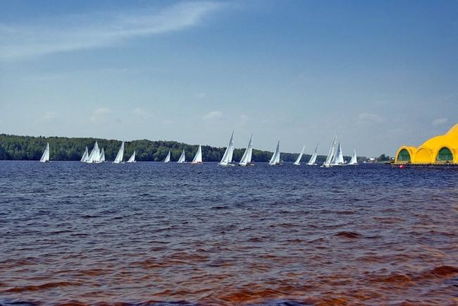 пироговское море  для лодке