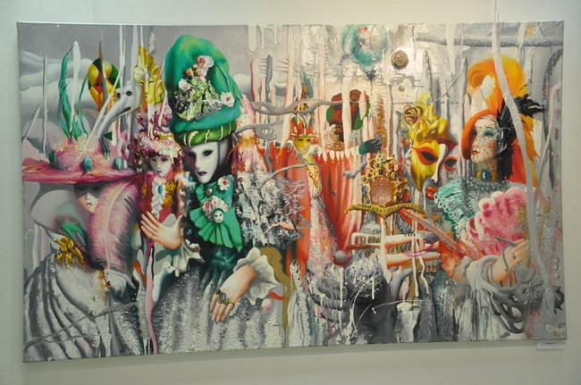 сметанного крема батик картины казахских художников мероприятие мастер класс