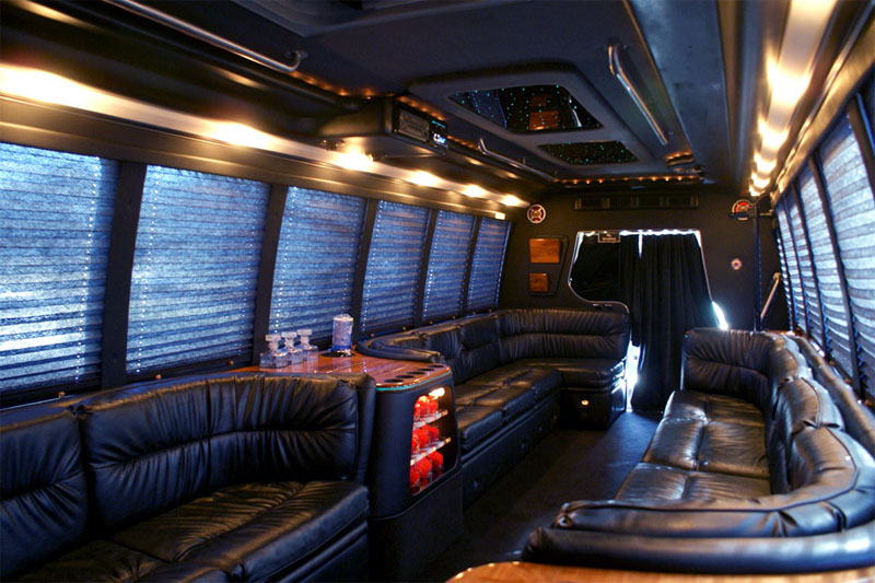 interior-18-passenger-party-bus-rental-services-in-orlando
